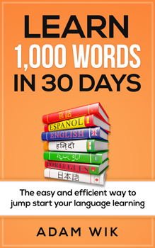 Cover of the book Learn 1,000 Words in 30 Days by Adam Wik